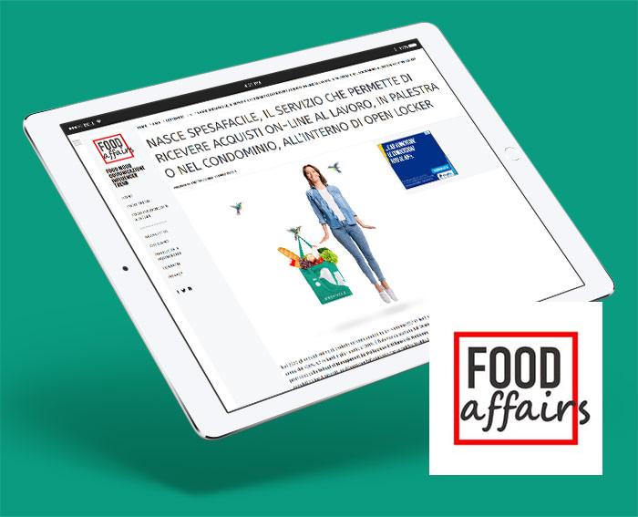 Food Affairs celebra la nascita di Spesafacile